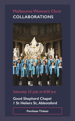 collaborations womens choir concert melbourne