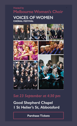 voices of women choral festival melbourne