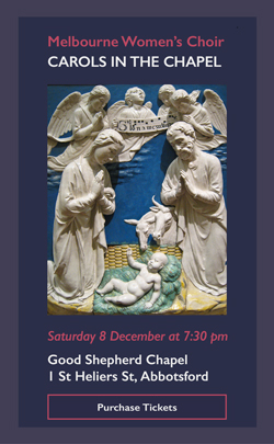 Melbourne Women's Choir Carols in the Chapel